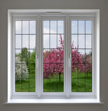 Deb's picture window to pink flowering tees